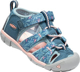 Infant Girl Keen Seacamp II Real Teal/Stone Blue