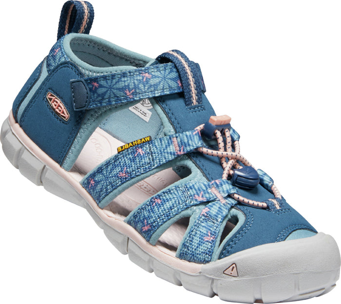 Big Girl Keen Seacamp II Real Teal/Stone Blue