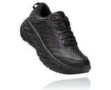 Mens Hoka One One Bondi 7 Wide Black/Black
