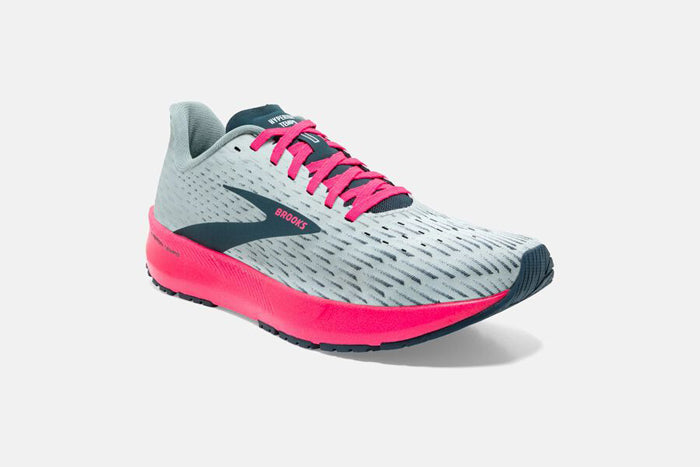 Womens Brooks Running Hyperion Tempo Ice/Navy/Pink