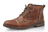 Mens Rieker Larrache Boot Tan