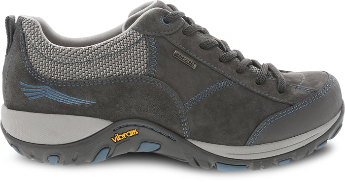 Womens Dansko Paisley Grey/Blue