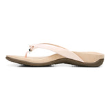 Womens Vionic Bella Toe Post Sandal Pale Blush