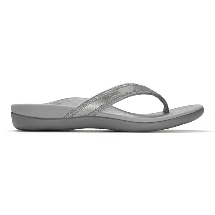 Womens Vionic Tide II Toe Post Sandal Pewter