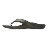 Mens Vionic Tide Toe Post Sandal Black