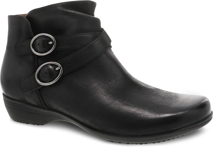 Womens Dansko Faithe Ankle Boot Black