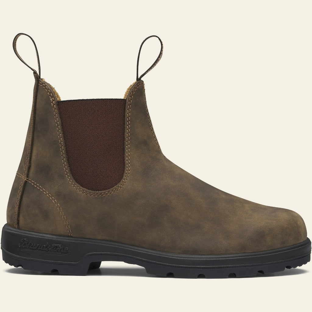 Mens Blundstone 585 Chelsea Boot Rustic Brown