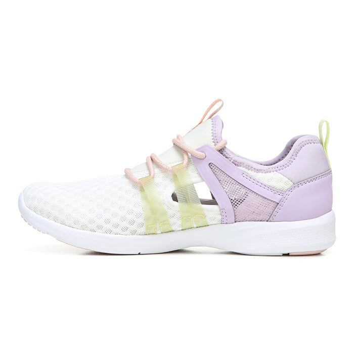 Womens Vionic Adore Active Sneaker White/Lilac