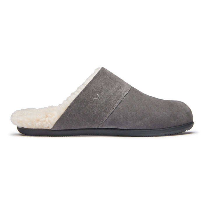 Mens Vionic Alfons Mule Slipper Charcoal
