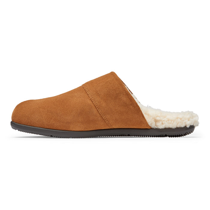 Mens Vionic Alfons Mule Slipper Toffee