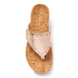 Womens Vionic Anitra Wedge Sandal Rose Gold