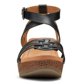 Womens Vionic Clarisa Wedge Sandal Black