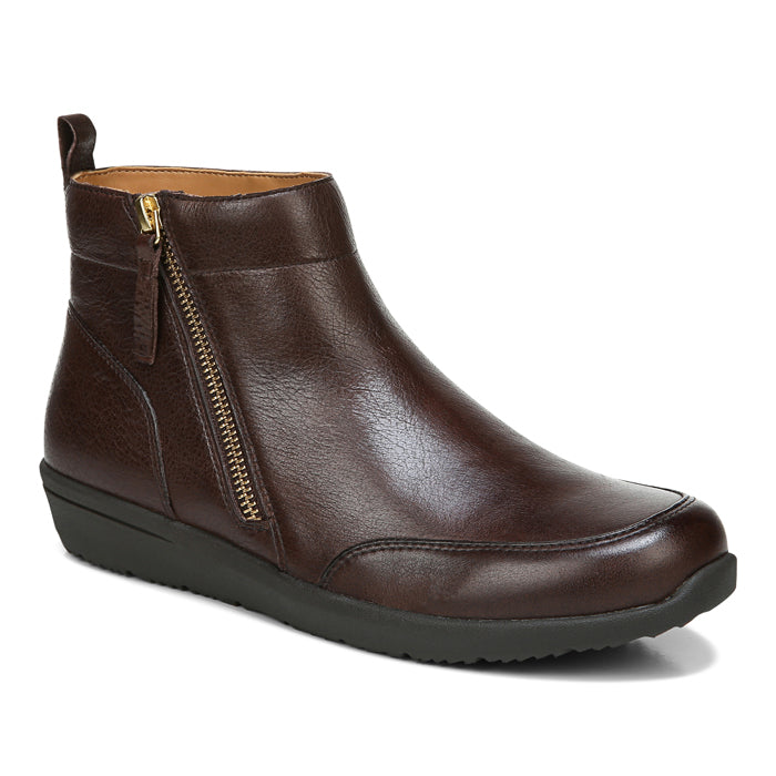 Womens Vionic Lois Bootie Brown
