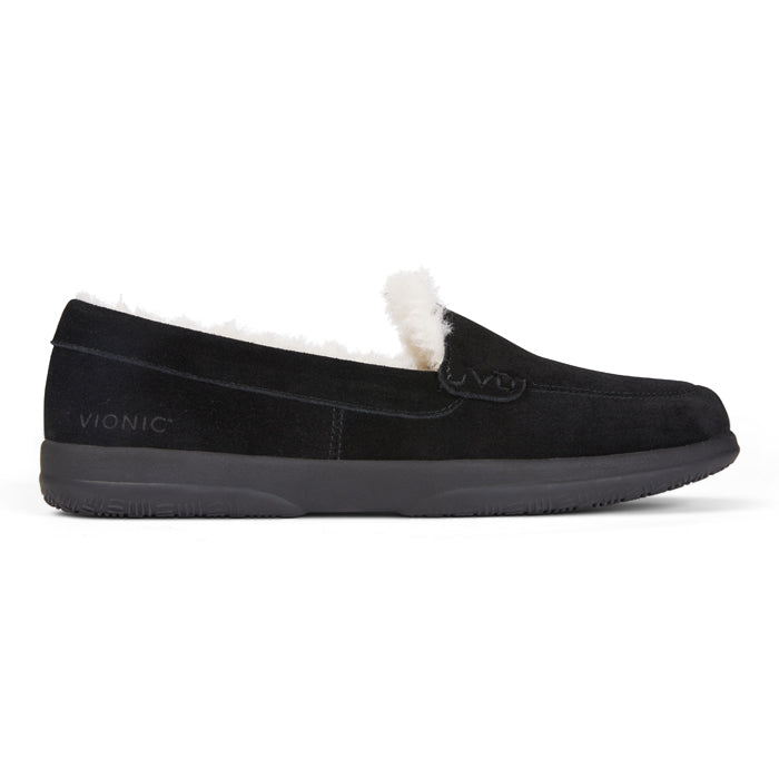 Womens Vionic Lynez Slipper Black