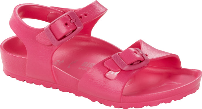Little Girl Birkenstock Rio EVA Beetroot
