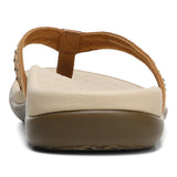 Womens Vionic Tasha Toe Post Sandal Toffee