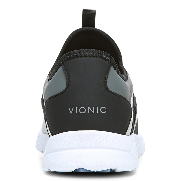Womens Vionic Vayda Slip On Sneaker Grey/Black