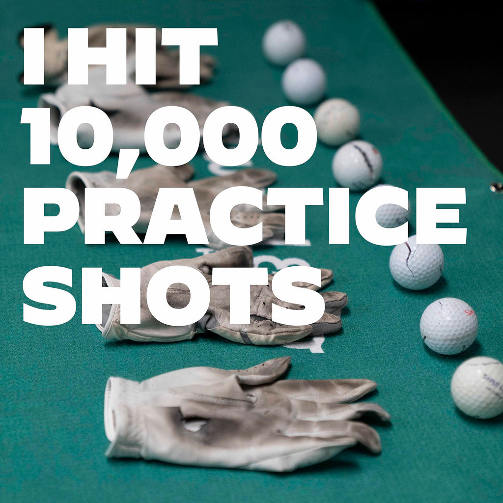 I hit 10,000 Practice Shots And This Is What Happened