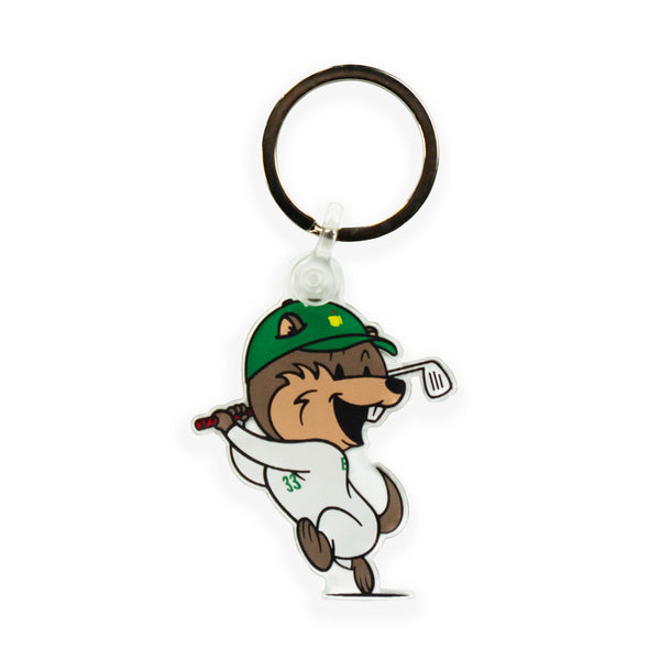 Major Caddy Bob Acrylic Keychain