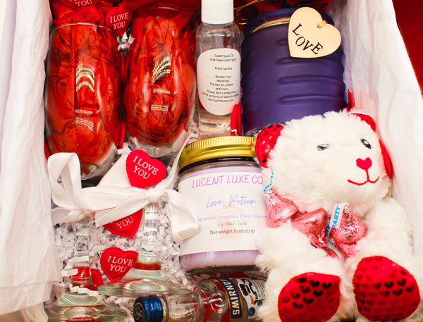 Lucent Luxe Co.'s Valentines Day Love Box