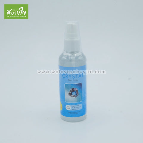 Crytal Deo Spray 100 ml. (miracles) - ร้านสบายใจ - welovesabuyjai.com