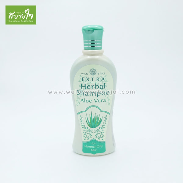 Extra-herbal-shampoo-aloe-vera-for-normal-oily-hair-300ml-wanthai-1