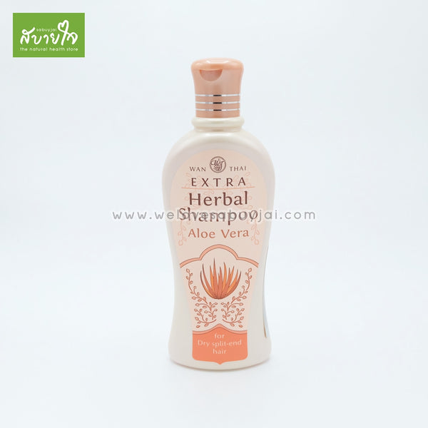 Extra-herbal-shampoo-aloe-vera-for-dry-split-end-hair300ml-wanthai-1