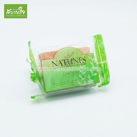 LIME SOAP 100 G. | lime-soap-100g-natunes