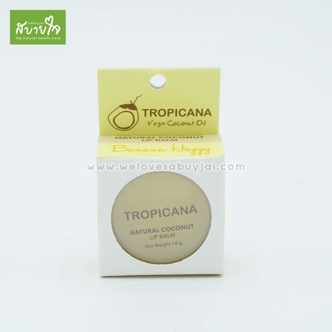 Lip Balm Banana Happy 10 g.(Tropicana)
