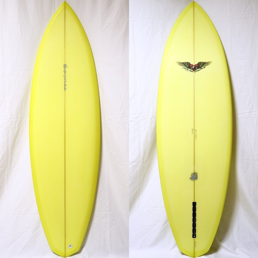 Dick Van Straalen 6'2 Diamond Tail Single Fin PU