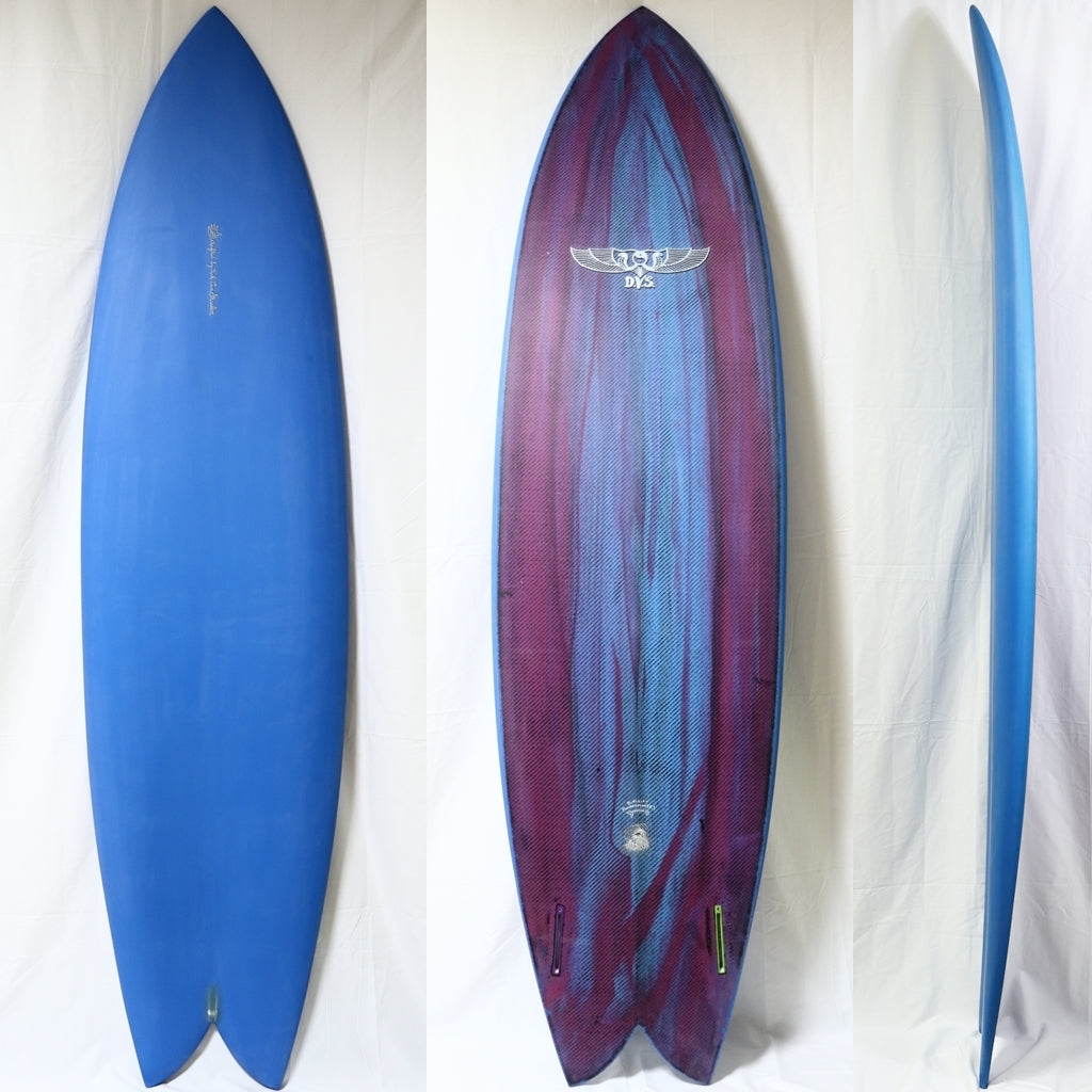 Dick Van Straalen 7'4 Twin Fin EPS/CARBON
