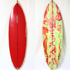 Channin Surboards 6'2 70's Twin Bonzer(USED)