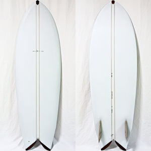 Jed Done Surfboards 5'6 Keel Fin Fish(USED)