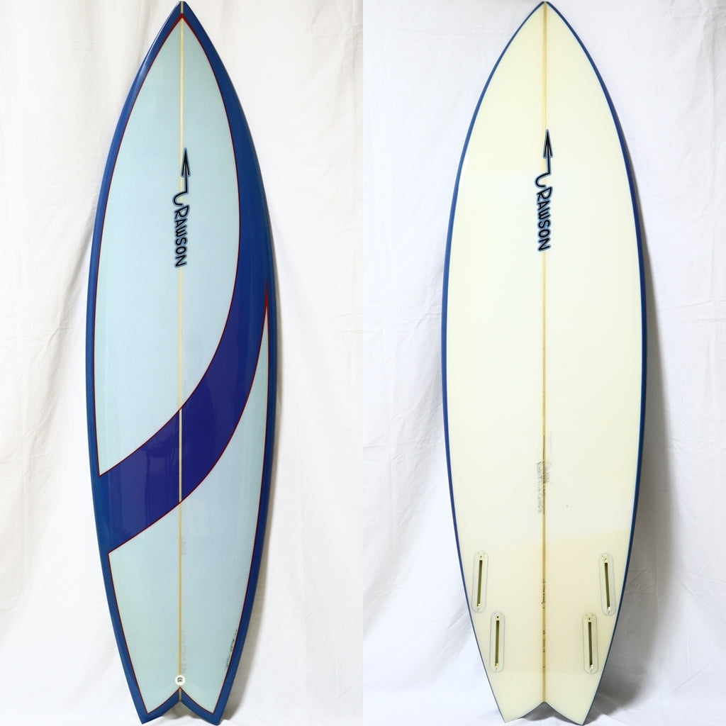 Pat Rawson 6'0 Rocket Fish Quad(OUTLET)