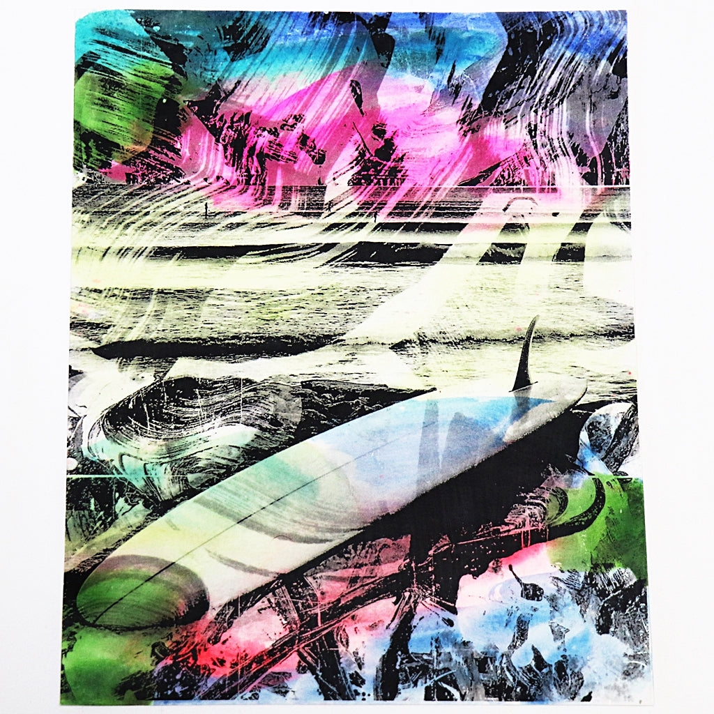 Kris Chatterson Surf Art Project Print 8x10