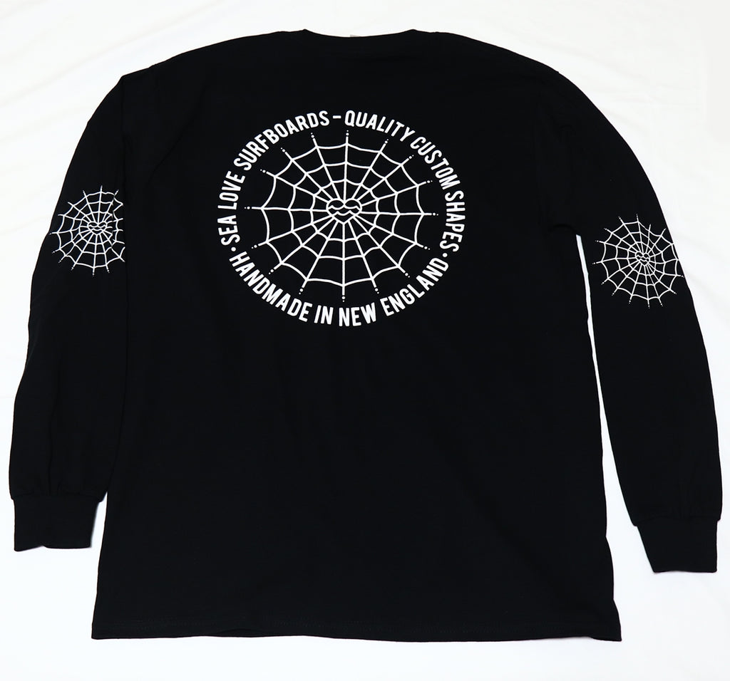 Sea Love Surfboards Circle Web LS T-Shirt