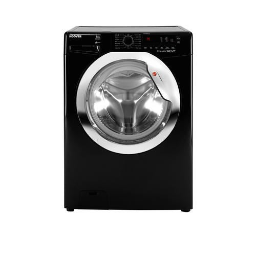 Hoover DXC58BC3 1500 spin Washing Machine (Black)