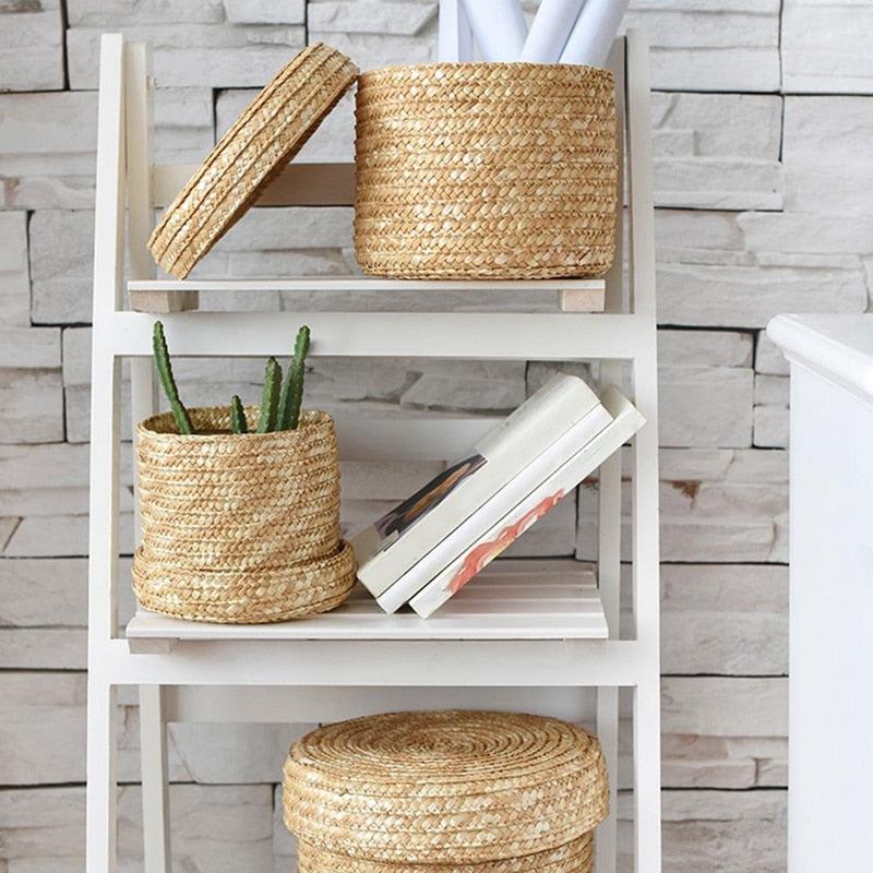 Sustainable and Eco-Friendly Hand Woven Seagrass Baskets