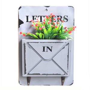 Retro Decorative Letter Box