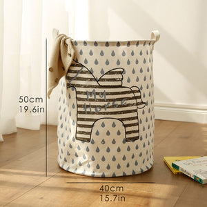Cute and Clever Laundry Basket