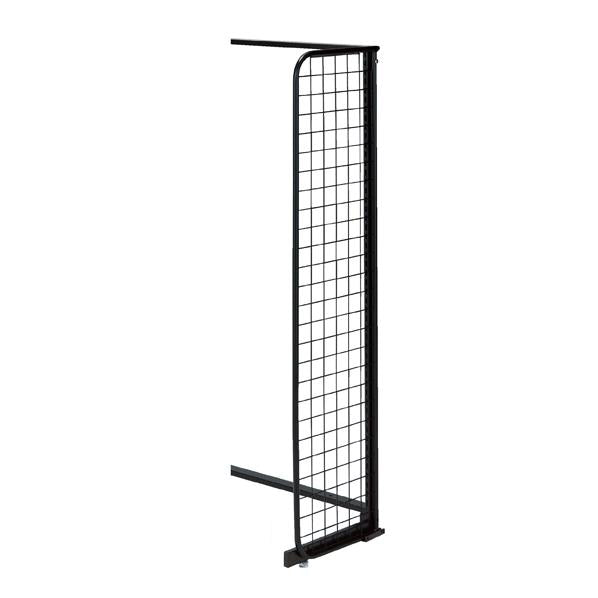 Standard Frame  - Side Grid H150cm for One-Sided use - Black