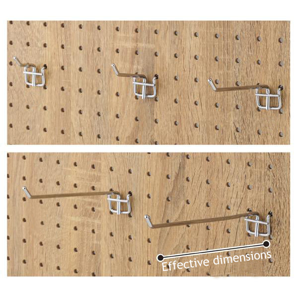 Display Prongs φ4mm for Peg Board 10pcs