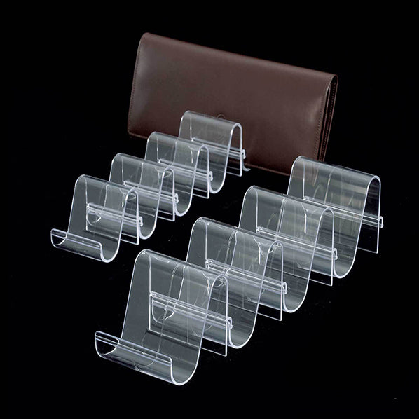 Acrylic Wallet Display Organizer 5pcs