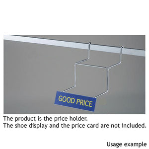 Price Holder for Shoe Display 10pcs