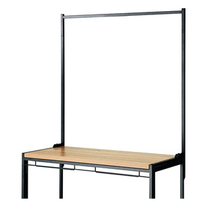 Haco Marché - Additional Open Panel W90cm - Black