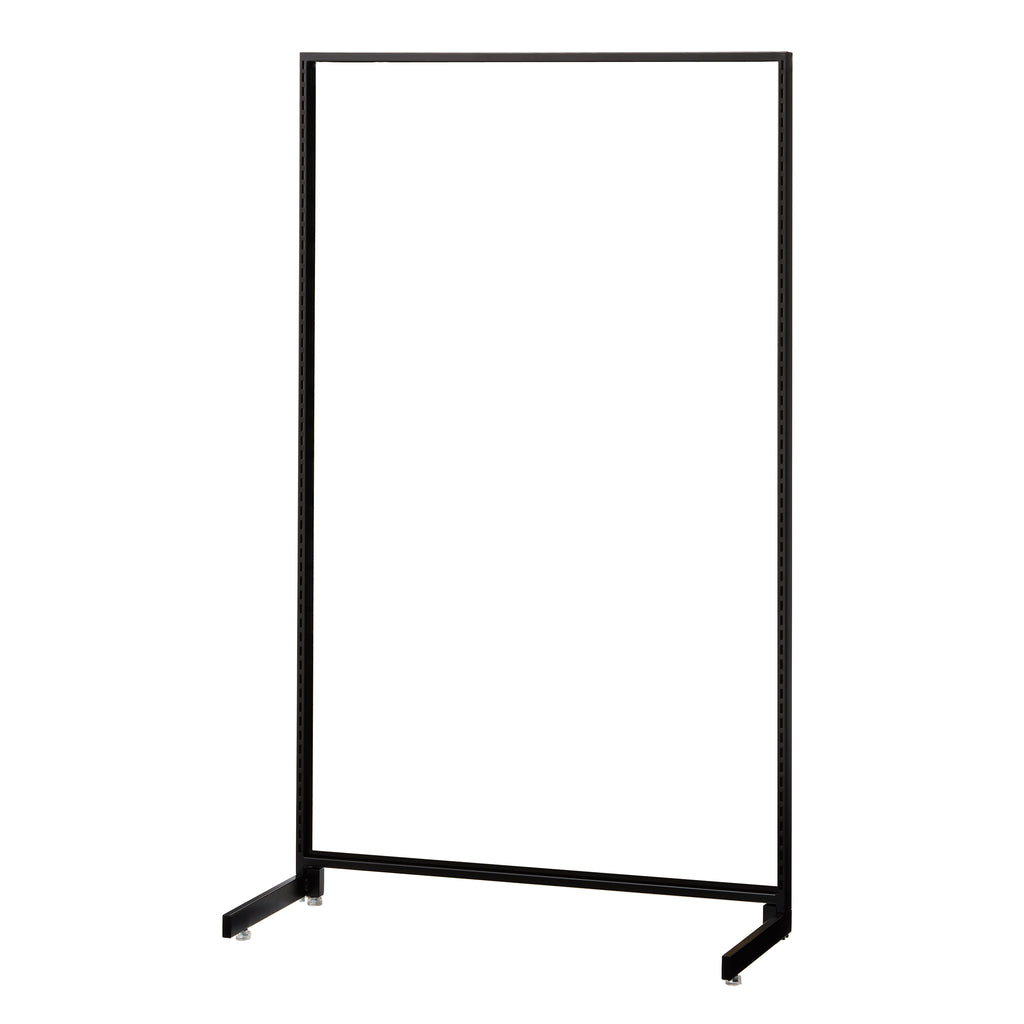 Standard Frame - Island Type H150cm for One-Sided use - Black