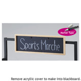 Haco Marché - Sign Holder and Black Board