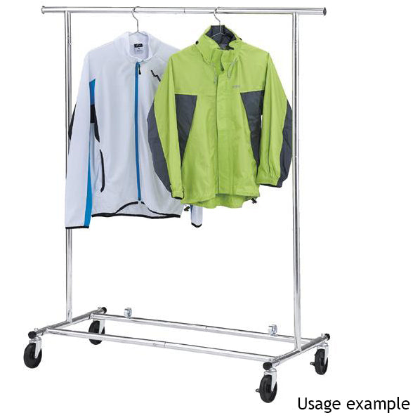 Foldable Clothes Rail - Chrome