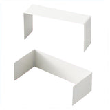 U-Shaped Divider White 2 pcs