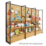 Standard Frame - Wall Type Side Frame - Black
